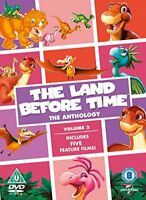The Land Before Time: The Anthology Volume 3 (9-13) [DVD] [2016][Region 2]