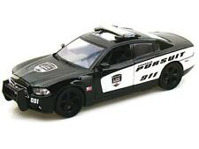 1:24 Diecast 2011 Dodge Charger Pursuit Model Car From Motormax (76930)