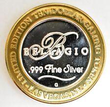 Bellagio 2002 Limited Edition Silver Core Gaming Token-10726