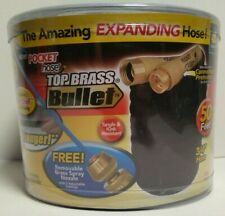 Garden Hose - 50 ft expandable Pocket Hose Brass Bullet