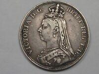 1889 Great Britain Crown.  #12