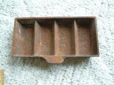 Vintage Ingot Mold Used Cast Iron