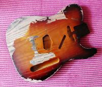 Stratocaster Telecaster Jaguar Relic Guitar Body Ash Alder Nitrocellulose Finish