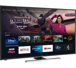 """JVC LT-49CF890 49"""" 4K LED Amazon Fire TV - Black"""