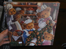 """Puzzle 1000 Gibson's """"Upstairs..Bears"""" Carol Lawson jigsaw collectors collezione"""