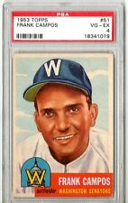1953 Topps Frank Campos #51 PSA 4 P212