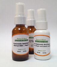 Anti Aging Vitamin C Serum 60% HYALURONIC ACID 20% MATRIXYL3000 Plant Cell HA