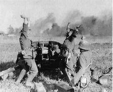 WW2 German Anti-Tank Gun Victory  Eastern Front WWII World War Two Russia / 22