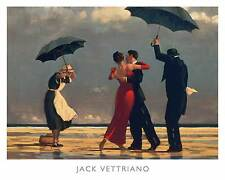 SINGING BUTLER ART PRINT BY JACK VETTRIANO Classic Bombay Company Store poster