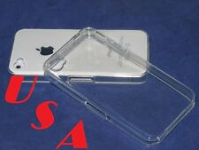 for iphone 4 4g cristal clear transparent quality tpu soft case +protector film