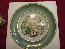 Avon Country Christmas Plate 1980