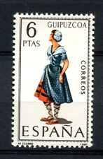 Spain 1968 SG#1906 Provincial Costumes Guipuzcoa MNH #A40019