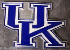 NCAA Pewter Belt Buckle Kentucky Wildcats NEW