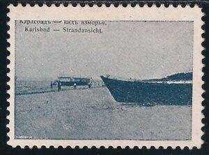 Imperial Russia (Latvia) Advertising propaganda revenue Stamp no gum