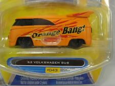 Jada Toys V dubs '62 Volkswagen Bus Orange Bang Wave 4 2007 #043
