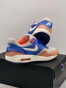 "Nike Air Max 1 Hyperfuse "" Hyper Blue Total Crimson "" Size UK 6 Jordan / LeBron"