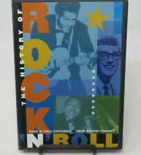 THE HISTORY OF ROCK N ROLL: ROCK N ROLL EXPLODES + GOOD ROCKIN TONIGHT DVD, BONO