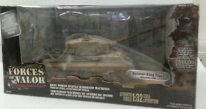 Forces Of Valor Unimax Army German King Tiger Normandy 1944 Tank Ww2 1/32 #204