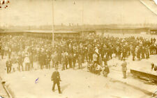 ALLEMAGNE Carte PHoto concert donné au camp de FRIEDRICHSFELD en 1918 Soldats