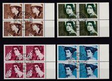 Gestempelte Briefmarken aus der BRD (1970-1979) als Satz