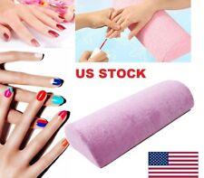 US Nail Art Half Hand Cushion Rest Pillow Soft Column Design Manicure Care Salon