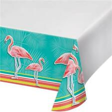 CLEARANCE Island Oasis Flamingo Plastic Party Tablecover