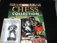 Eaglemoss Marvel Chess Collection-Número 9-Venom Black Pawn