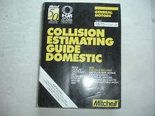 1997 Mitchell GM General Motors Collision Estimating Manual Guide Corvette 1996