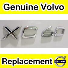 Genuine Volvo XC60 Tailgate Badge / Emblem (Chassis 365000 onwards)