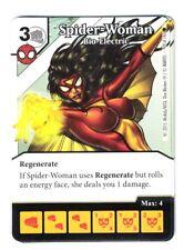 Marvel Dice Masters Spider-Man, Spider-Women Bio-Electric 70/142 Card & Die