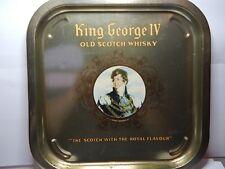 Vintage King George IV Old Scotch Whisky 35 cm x 35 cm by Reginald Corfield Ltd