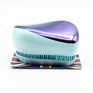 Tangle Teezer Compact Styler Petrol Blue Ombre - NEW - Damaged Box