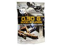 MetalTac 3000 Bag .30g 6mm BBs Ammo Pellets 0.3g Premium Quality Airsoft Guns