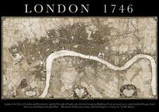 Antique European Maps & Atlases London 1700-1799 Date Range