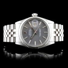 Rolex DateJust 18K & Stainless Steel 36mm Watch Lot 469