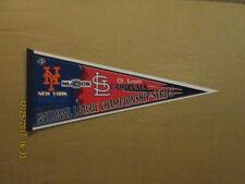 Mlb Mets Cardinals Vintage 2006 Nl Championship Series Logo Baseball Pennant