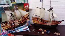 PLAYMOBIL 5135 Bateau Pirate Avec Instructions Et Case