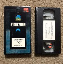 Full Moon Video Zone Demonic Toys Vhs