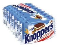 KNOPPERS CRISPY MILK HAZELNUT AND WAFER BARS