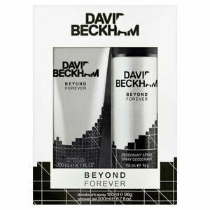 David Beckham Beyond Forever Men's Gift Set - Shower Gel 200ml + Deodorant 150ml