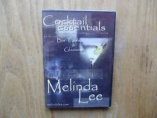 Cocktail Essentials Vol 1 Bar Tools & Glasses (DVD) Melinda Lee - New