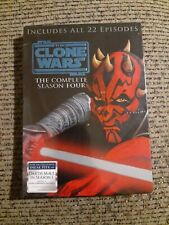 Star Wars: The Clone Wars - The Complete Season Four 4 4th (DVD, 4-Disc Set) NIP