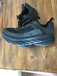 Size 9 - Hoka One One Bondi 6 - Black Running Shoes