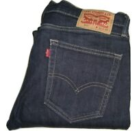 Mens LEVI'S 510 Dark Grey Super Skinny Stretch Denim Jeans W32 L32