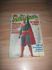 1979 Christopher Reeve Superman Danish International Comic Book/Free Shipping!