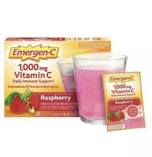 Emergen-C Raspberry - Vitamin C, Zinc, Chromium, Antioxidants & more, 30 Packets