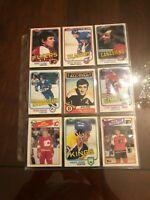 Vintage Hockey Card Lot,Esposito,Clarke,Dionne,Lafleur,Tocchet,Bossy,Stastny