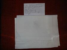 Federa cotone volant orlo a giorno  G.C. cm. 85x56 B14  Cotton pillowcase