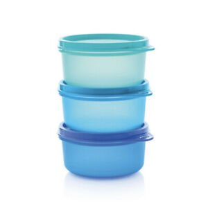 Tupperware Space Saver Serving Cups (3) 200ml New