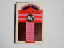 "Max Kaminsky SIGNED book ""My Life in Jazz"" 1st Ed HC/DJ Used COA"